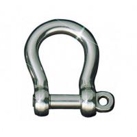 Sprenger Edelstahl-Rundschäkel geschweift - Länge 17,5mm, Durchmesser 5mm