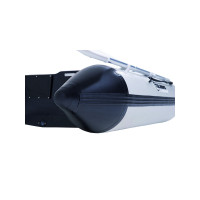 Talamex Aqualine QLA350 Schlauchboot mit Luftboden, Länge 3,50m, grau