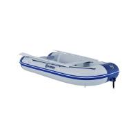 Talamex Comfortline TLX350 Schlauchboot mit Aluminiumboden, Länge 3,50m, grau