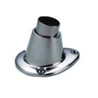 Talamex Edelstahl Flaggenstockhalter - Durchmesser 25mm