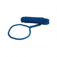 Talamex Festmacher mit Auge - blau, 10mm, Länge 10m