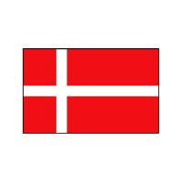 Nationalflagge Dänemark - 20 x 30cm