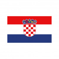 Nationalflagge Kroatien - 20 x 30cm