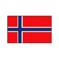 Nationalflagge Norwegen - 30 x 45cm