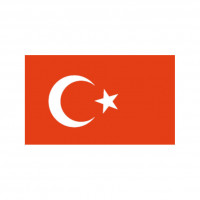 Nationalflagge Türkei - 20 x 30cm