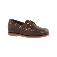 Timberland Classic Boat Amherst Bootsschuh Damen rootbeer