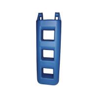 Treppenfender - blau, 3 Stufen