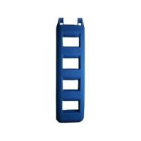 Treppenfender - blau, 4 Stufen