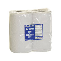 Yachticon Boot & Caravan Soft Toilettenpapier, 4 Rollen