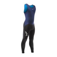 Zhik Microfleece V Skiff Suit Long John Neoprenanzug Herren marineblau-dunkelgrau