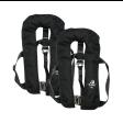 2er-Set 12skipper Automatik-Rettungsweste 300N ISO mit Harness, schwarz