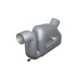 Vetus Wassersammler für Auspuffschläuche mit 50-90mm Innendurchmesser, Kapazität 10,5l