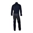 Dry Fashion Underall Fleece-Unterzieher Unisex marineblau